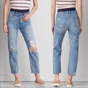 American Eagle Vintage Hi-rise Straight Leg Jeans